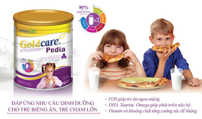 Wincofood - Goldcare Pedia - Cải thiện dinh dưỡng dành cho trẻ biếng ăn - 2