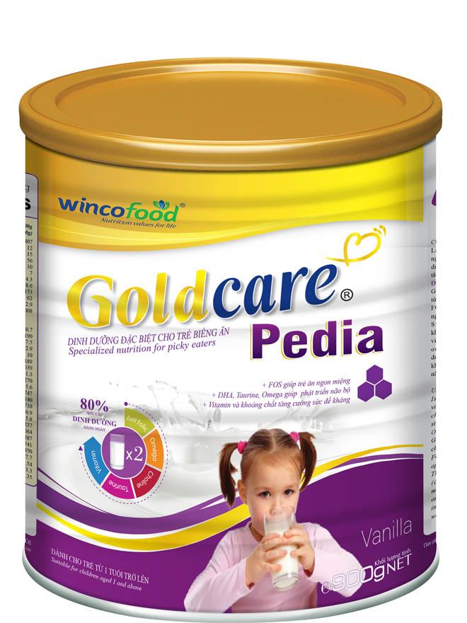 Wincofood - Goldcare Pedia - Cải thiện dinh dưỡng dành cho trẻ biếng ăn - 1