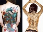 Giải mã hình xăm kỹ nữ trên lưng mỹ nhân
