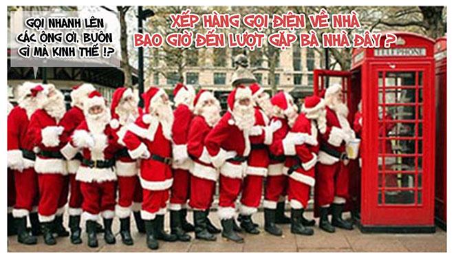 """""""Lật tẩy"""" những chiêu trò của ông già Noel trong đêm giáng sinh - 1"""