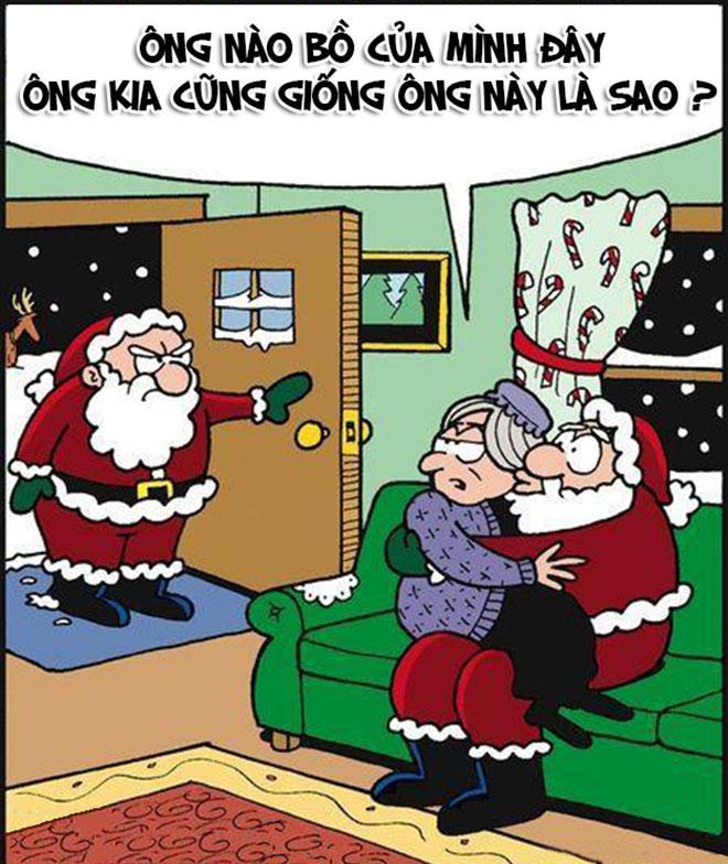 """""""Lật tẩy"""" những chiêu trò của ông già Noel trong đêm giáng sinh - 12"""