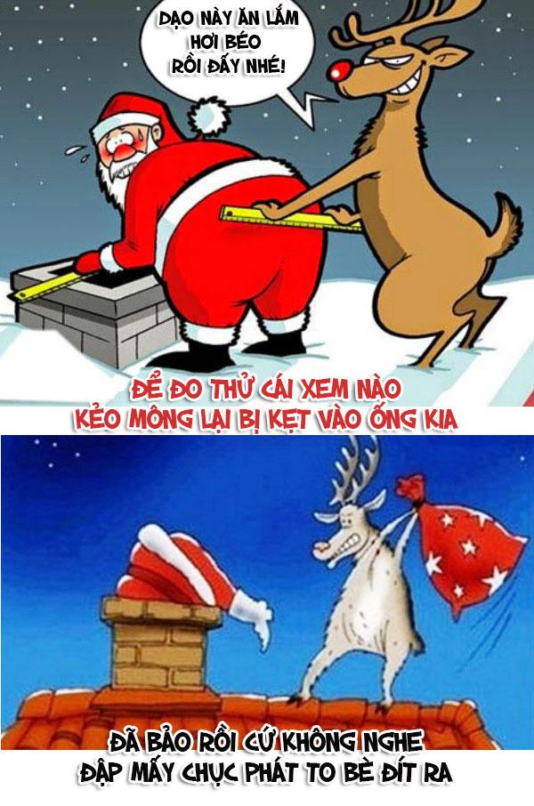 """""""Lật tẩy"""" những chiêu trò của ông già Noel trong đêm giáng sinh - 11"""