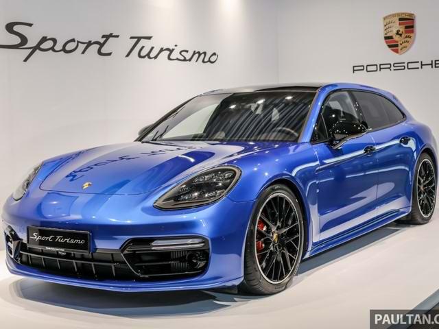 Ngắm Porsche Panamera Sport Turismo sắp về Việt Nam