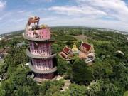 Du lịch - Kỳ lạ ngôi đền toàn rồng bao quanh ở Thái Lan