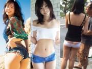 Loạt quần ngắn chẳng tày gang của con gái châu Á