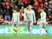 MU điêu đứng: Mourinho  quên  cách bắt nạt đội bóng nhỏ