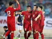 Bảng xếp hạng FIFA tháng 12: Việt Nam số 1 Đông Nam Á, hơn Thái Lan 18 bậc