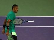 """"""" Gã điên """"  tennis, Nick Kyrgios: Chuyên đập vợt, chửi trọng tài, dọa đối thủ"""