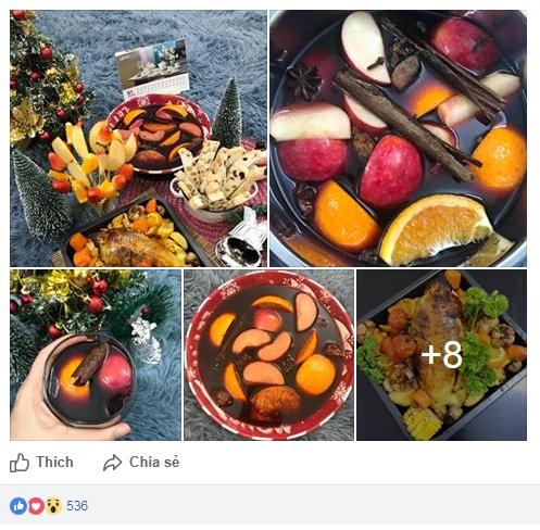 """Những món ăn Giáng sinh đẹp lung linh khiến chị em """"chao đảo"""" nhất tuần - 1"""