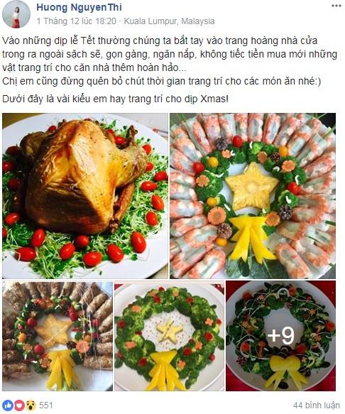 """Những món ăn Giáng sinh đẹp lung linh khiến chị em """"chao đảo"""" nhất tuần - 2"""