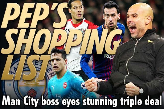 """Man City vô đối: Pep nhận """"doping"""" 160 triệu bảng, Sanchez lương trên trời - 1"""