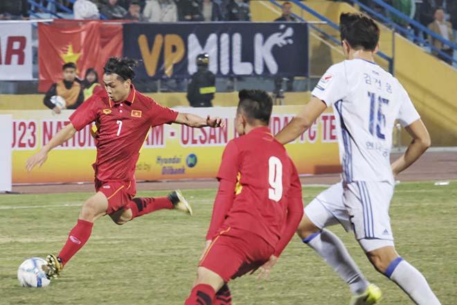 """U23 Việt Nam """"luyện công"""": Công Phượng, """"Thánh lốp"""" Đức Chinh vắng mặt bí ẩn - 2"""