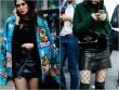 """Tất da chân + Váy ngắn: Công thức mặc đẹp """"độc quyền"""" ngày lạnh"""