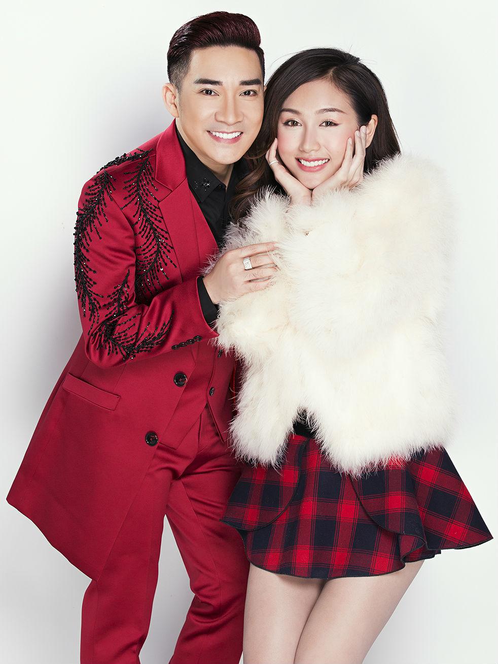 Nữ DJ mặc mát mẻ đón Giáng sinh bên ca sĩ Quang Hà - 2