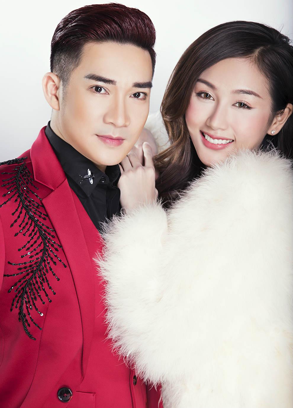 Nữ DJ mặc mát mẻ đón Giáng sinh bên ca sĩ Quang Hà - 4
