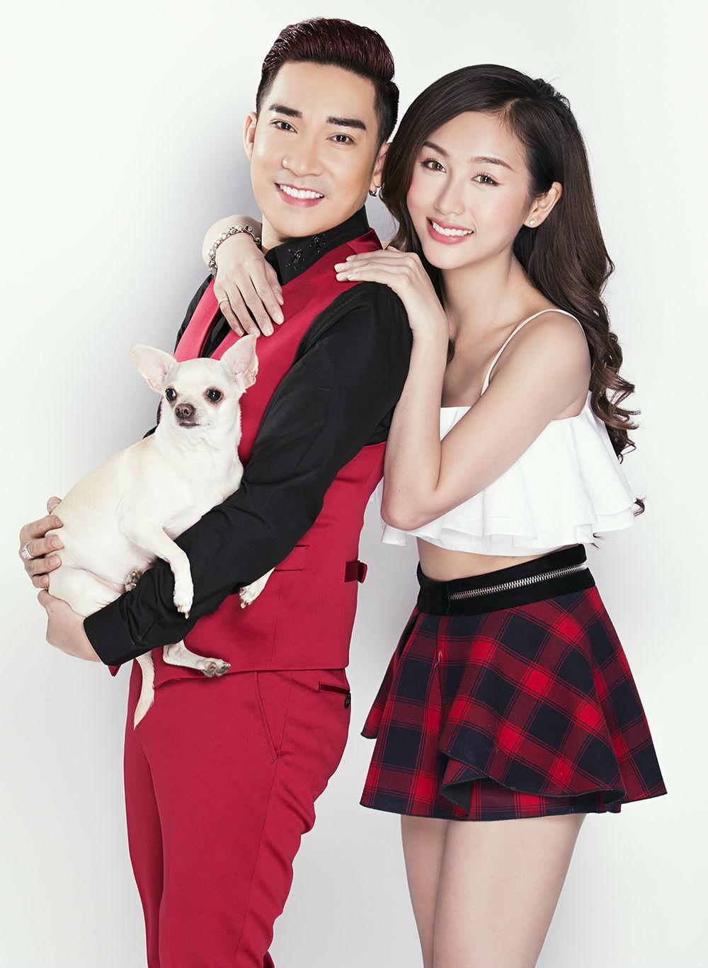 Nữ DJ mặc mát mẻ đón Giáng sinh bên ca sĩ Quang Hà - 7