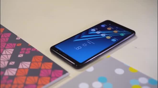 Trên tay Galaxy A8 (2018): Phiên bản cỡ nhỏ của Galaxy S8, giá tầm trung