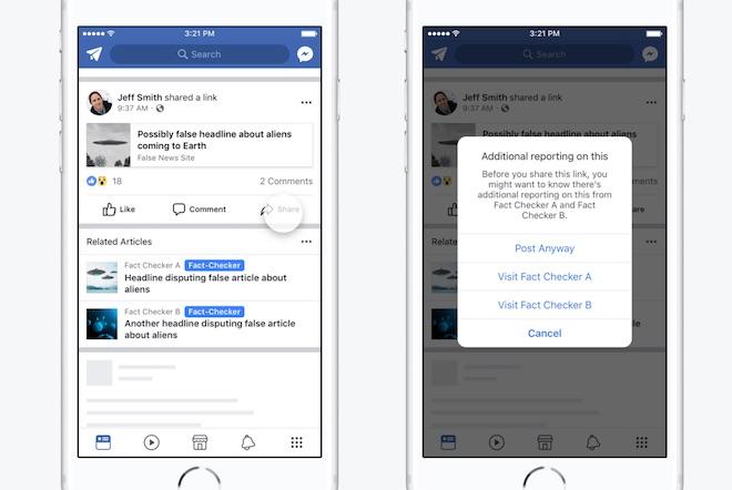 Facebook tung tuyệt chiêu mới chống lại Fake News - 2