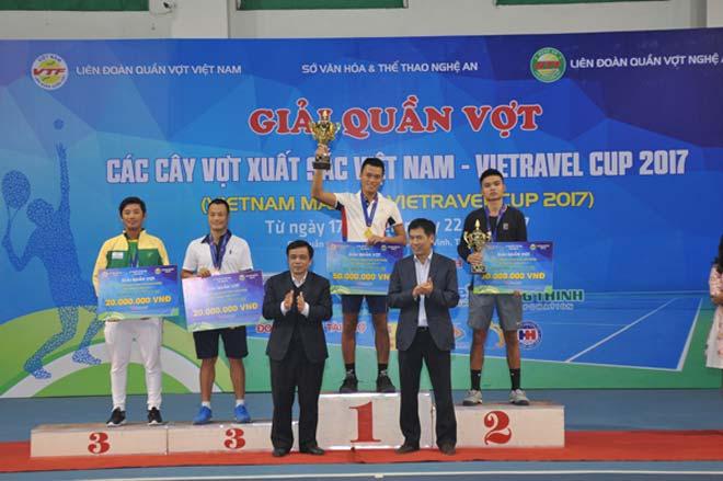 Phạm Minh Tuấn, Tiffany Linh Nguyễn vô địch giải Cây vợt xuất sắc 2017 - 3