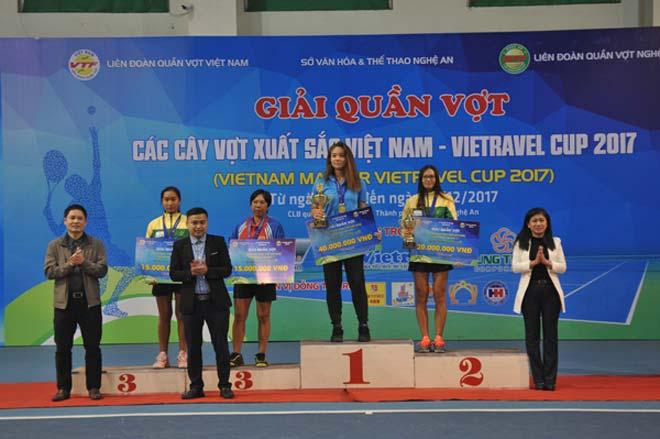 Phạm Minh Tuấn, Tiffany Linh Nguyễn vô địch giải Cây vợt xuất sắc 2017 - 4