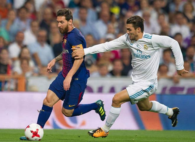 """Siêu nhân Messi: Bị một kèm một vẫn """"cày nát"""" Real, lập kỷ lục khủng - 1"""