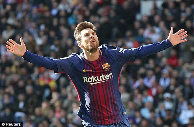 """Siêu nhân Messi: Bị một kèm một vẫn """"cày nát"""" Real, lập kỷ lục khủng - 2"""