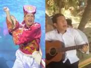 """Clip  """" Táo Kinh tế """"  Quang Thắng hát  """" Tình khúc nợ nần """"  gây sốt"""