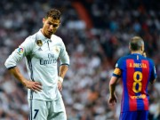 """Messi sút bóng  """" vỡ mặt """"  Ronaldo: Khôn khéo  """" dập lửa """" , CR7 nuốt hận"""