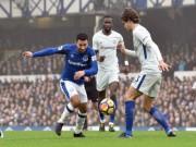 """Everton - Chelsea:  """" Sư tử """"  kiệt sức,  """" xe buýt """"  hảo hạng"""