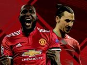 """MU có biến lớn: Lukaku  """" bật """"  Ibrahimovic, tố Mourinho thiên vị"""