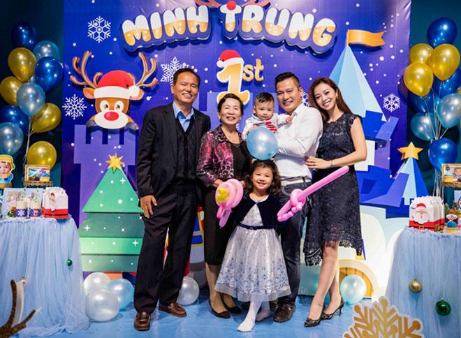 Vợ chồng Jennifer Phạm làm tiệc thôi nôi hoành tráng cho con trai - 2