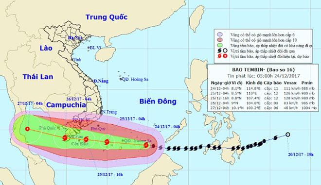 Giật mình điểm giống nhau kỳ lạ giữa bão số 16 và thảm hoạ bão Linda 1997 - 1