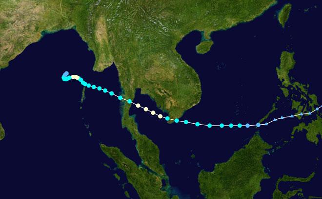 Giật mình điểm giống nhau kỳ lạ giữa bão số 16 và thảm hoạ bão Linda 1997 - 2