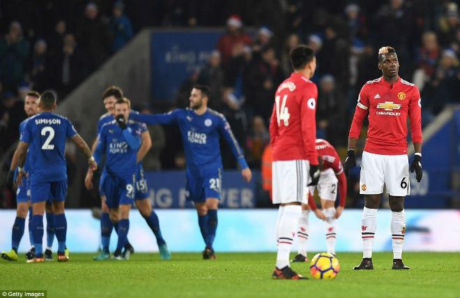 """Góc chiến thuật Leicester – MU: """"Quỷ đỏ"""" nhát gan, Mourinho hết phép - 2"""