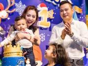 Vợ chồng Jennifer Phạm làm tiệc thôi nôi hoành tráng cho con trai
