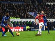 """Leicester - MU: Cú đúp siêu phàm,  """" vỡ tim """"  phút 94"""