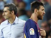 """Messi - HLV Valverde hạ Real:  """" Đám cưới """"  hoàn hảo của hai thiên tài"""