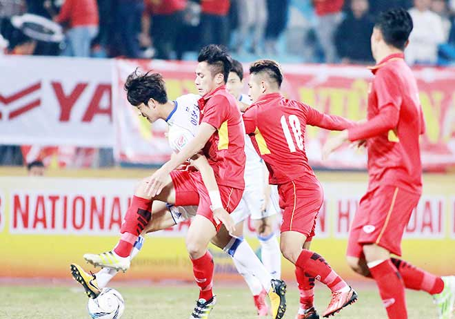 Đến lượt ông Park than phiền thể lực cầu thủ Việt Nam - 1