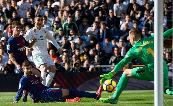 MU, Real thảm bại quốc nội: Mourinho hẹn Zidane chung kết Cúp C1 - 1