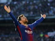 Vua phá lưới 2017: Ronaldo đầu hàng, chỉ 1 người cản Messi  xưng vương