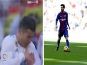 """Messi sút  """" vỡ mặt """"  Ronaldo: Đòn đau thấu xương, tan nát Bóng Vàng"""