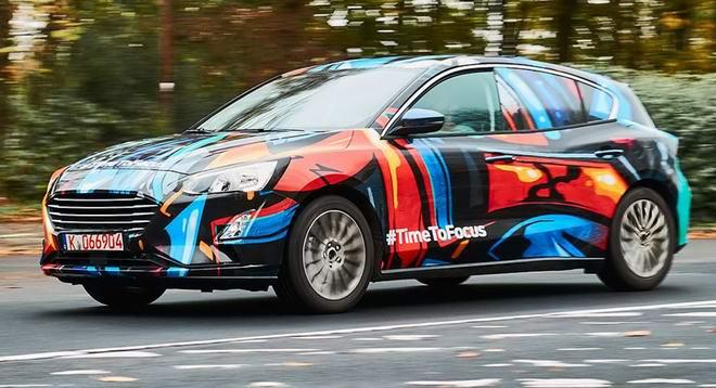 Ford Focus thế hệ hoàn toàn mới đã lộ diện - 2