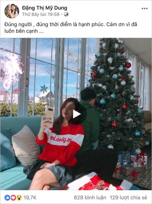 """Midu và Primmy Trương đều bỗng dưng khoe """"người ấy"""" dịp Noel - 1"""