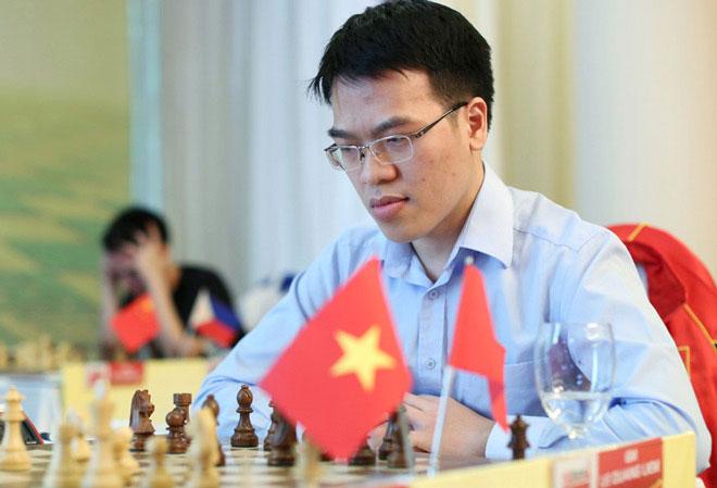 Cờ vua triệu đô: Quang Liêm ra đòn độc, cao thủ đầu hàng sau 3 nước - 1