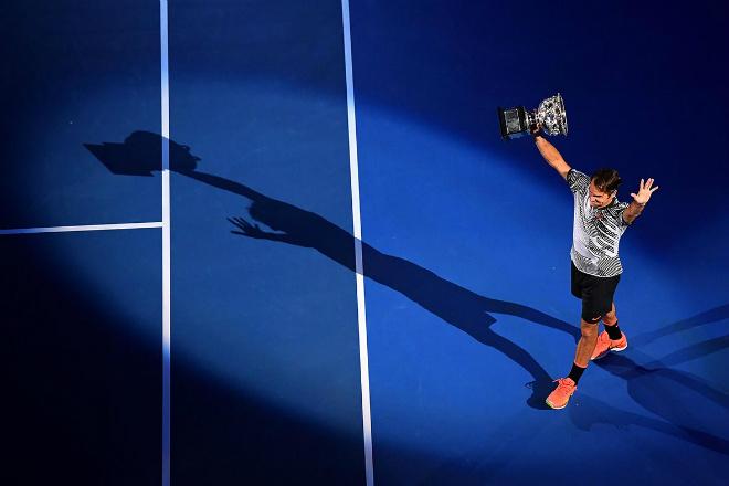 """Những giây lát thể thao ấn tượng 2017: """"Bọ cạp"""" Giroud tiếp tục huyền thoại Federer - 2"""