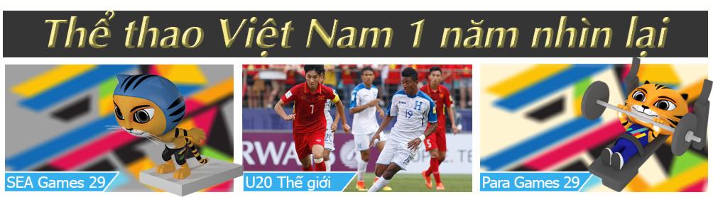 Thể thao Việt Nam 1 năm giông tố: Đỉnh cao cử tạ, bẽ bàng bóng đá - 1