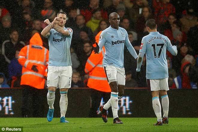 Bournemouth - West Ham: Đôi công nghẹt thở, cuối trận vỡ tim - 1