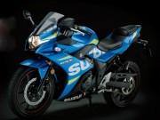 """"""" NÓNG """" : Rò rỉ mẫu Suzuki GSX-700T mang động cơ tăng áp"""