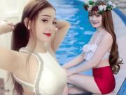 Bạn trẻ - Cuộc sống - Bạn gái gợi cảm hết nấc của hậu vệ U23 Vũ Văn Thanh