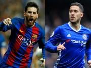 Cầu thủ  vô danh  solo ghi bàn như Messi nhưng thần tượng Hazard